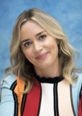 Emily Blunt attends 'Mary Poppins Returns' Press Conference and Photocall at the Four Seasons Hotel in Beverly Hills, Los Angeles