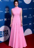 Gemma Arterton attends the 21st British Independent Film Awards (BIFA 2018) in London, UK