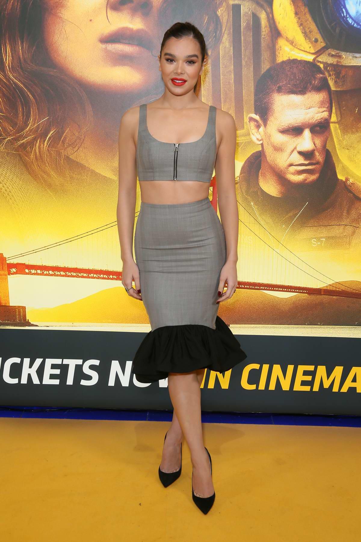 Hailee Steinfeld attends 'Bumblebee' Fan Screening in London, UK