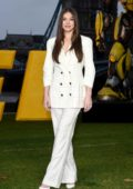 Hailee Steinfeld and John Cena attends the 'Bumblebee' photocall at Potters Fields Park in London, UK