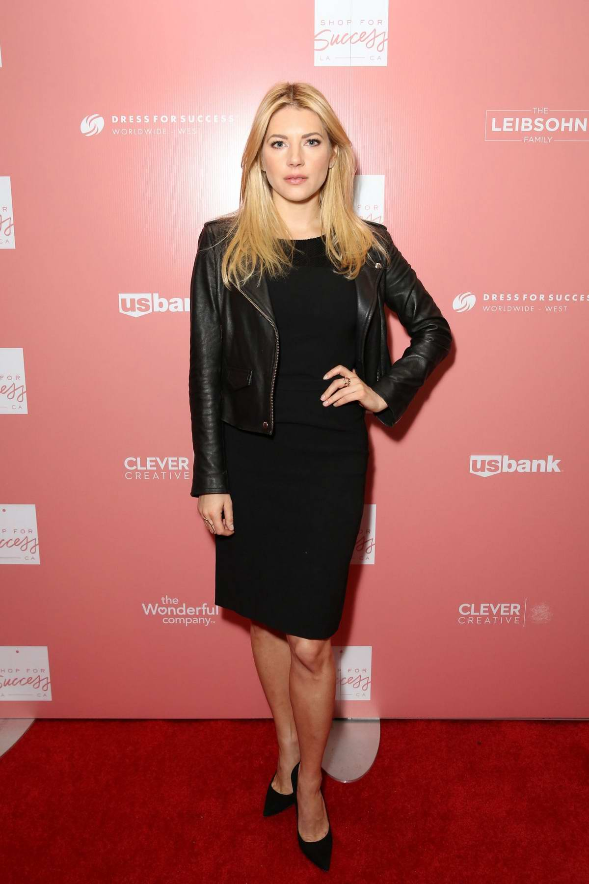 Katheryn Winnick attends 'Shop For Success': Dress For Success West Coast Fundraiser in Los Angeles
