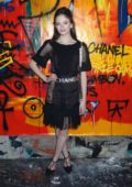Mackenzie Foy attends the Chanel Metiers d'Art Pre-Fall 2019 Fashion Show in New York City