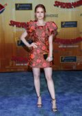 Madelaine Petsch attends 'Spider-Man: Into The Spider-Verse' Premiere in Westwood, California
