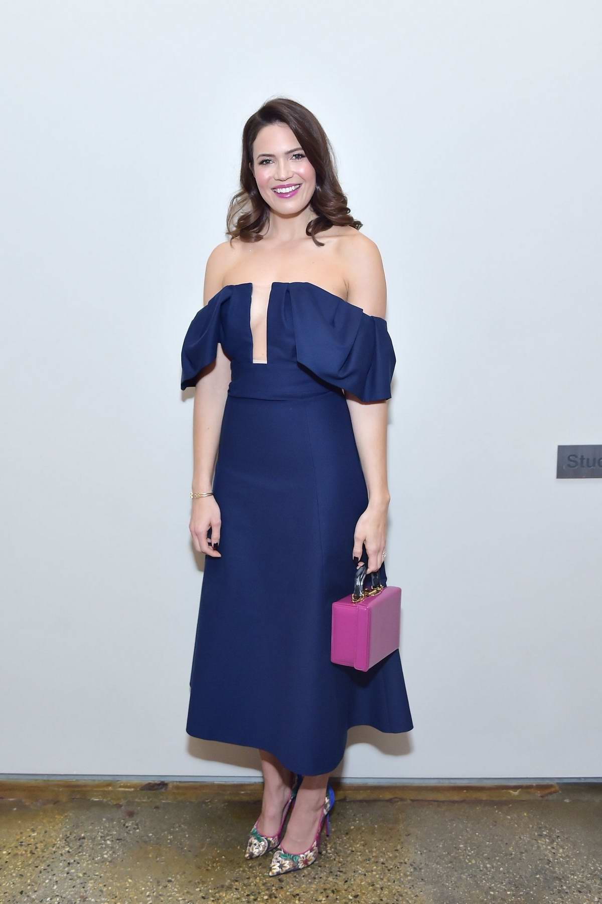 Mandy Moore attends The Hollywood Reporter's Power 100 Women In Entertainment in Los Angeles
