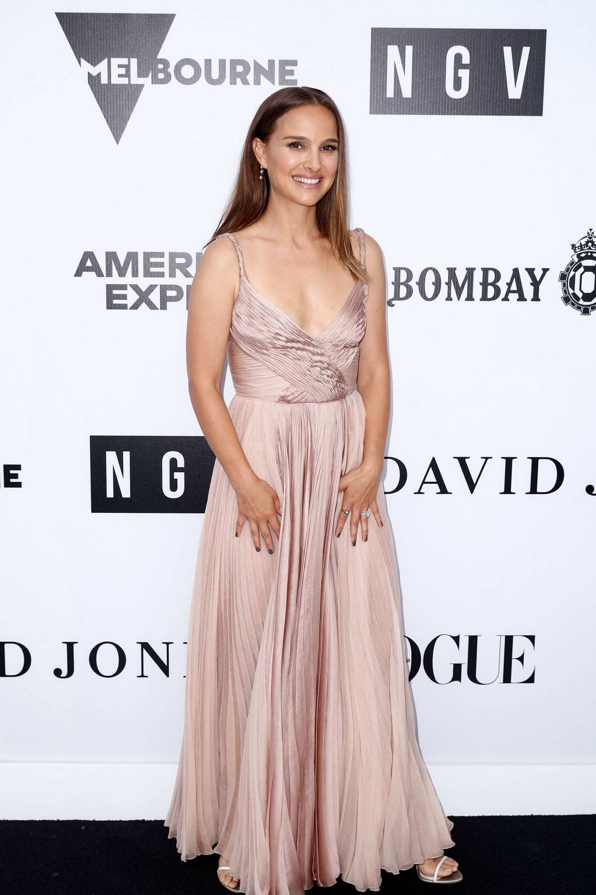 Natalie Portman attends the NGV Gala 2018 at National Gallery of Victoria in Melbourne, Australia