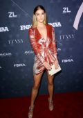 Nina Agdal attends Footwear News Achievement Awards in New York City
