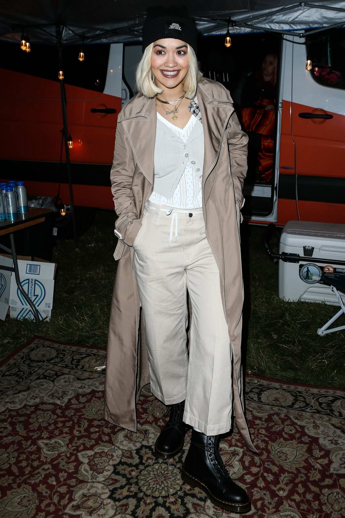 Rita Ora attends the One Love Malibu Festival Benefit Concert at the King Gillette Ranch in Calabasas, California