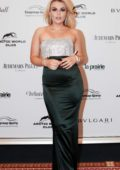 Tallia Storm attend the Winter Ball Gala in Moscow, Russia
