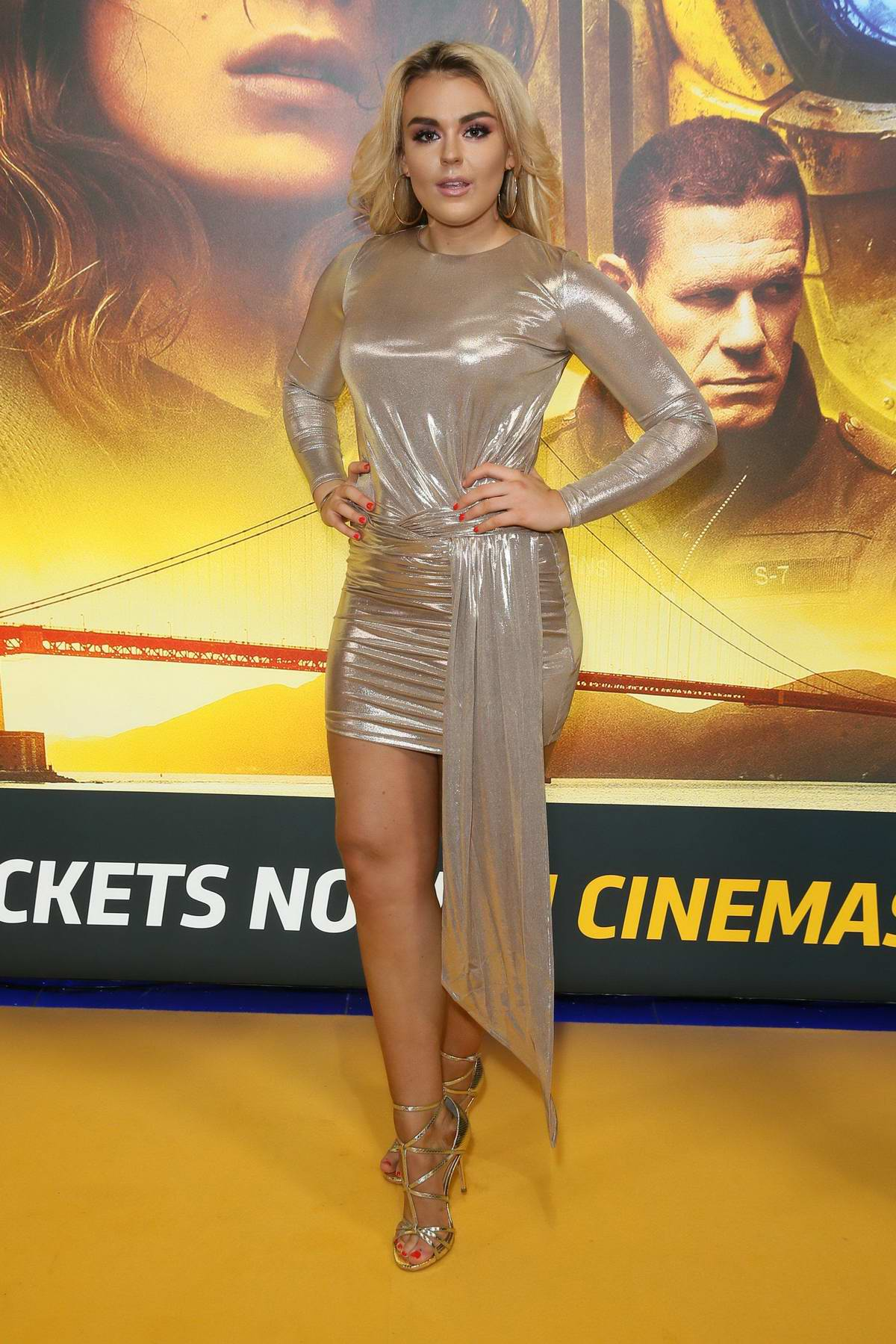 Tallia Storm attends 'Bumblebee' Fan Screening in London, UK