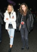 Alessandra Ambrosio at the Chris Cornell Tribute Concert at The Forum in Inglewood, California