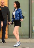 Amanda Steele poses during an impromptu photoshoot while out with friends in Los Angeles
