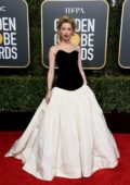 Amber Heard attends the 76th Annual Golden Globe Awards held at The Beverly Hilton Hotel in Los Angeles, California