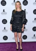 Amy Smart attends the 24th Annual LA Art Show held at The Convention Center in Los Angeles