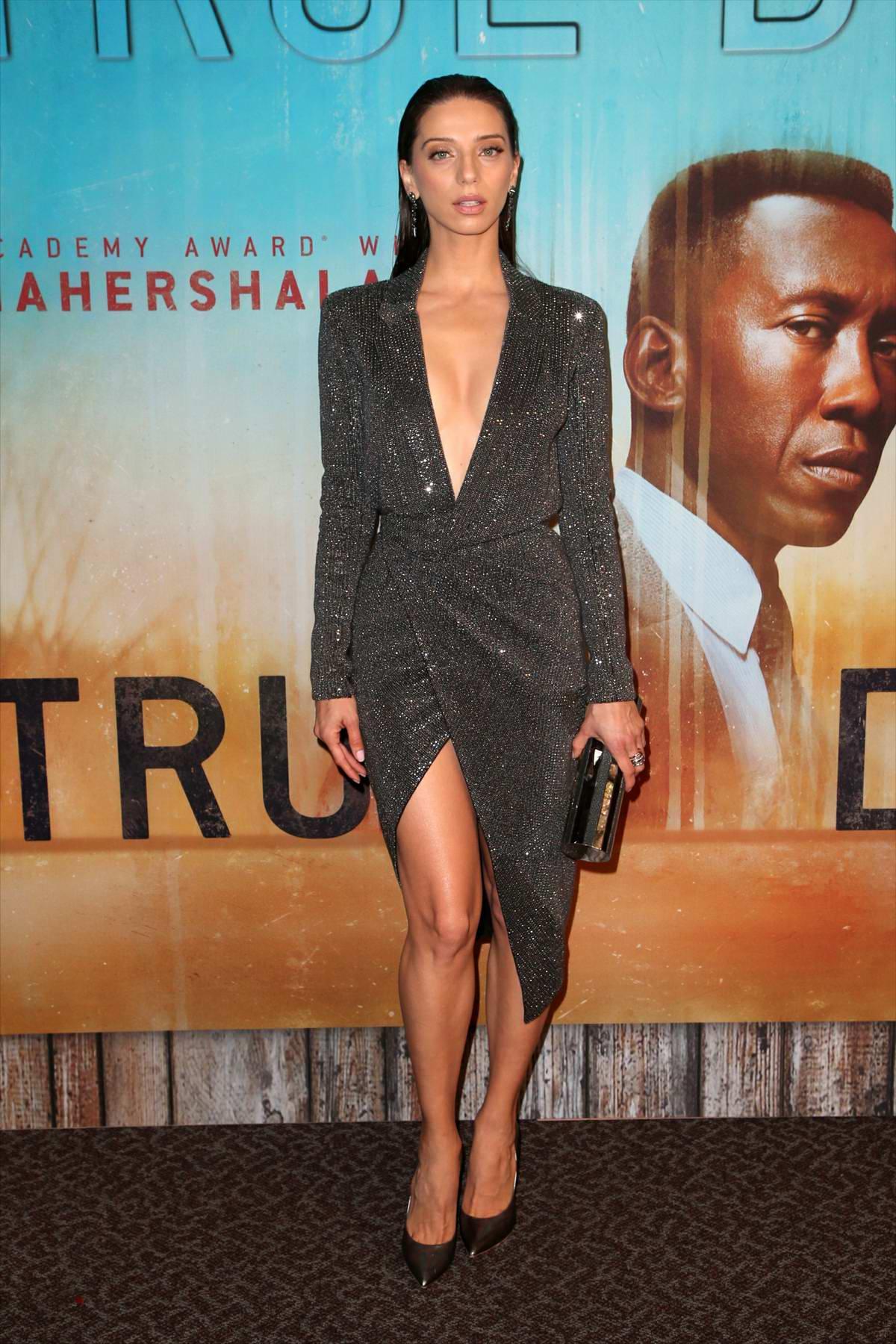 Angela Sarafyan attends 'True Detective' Season 3 Premiere in Los Angeles