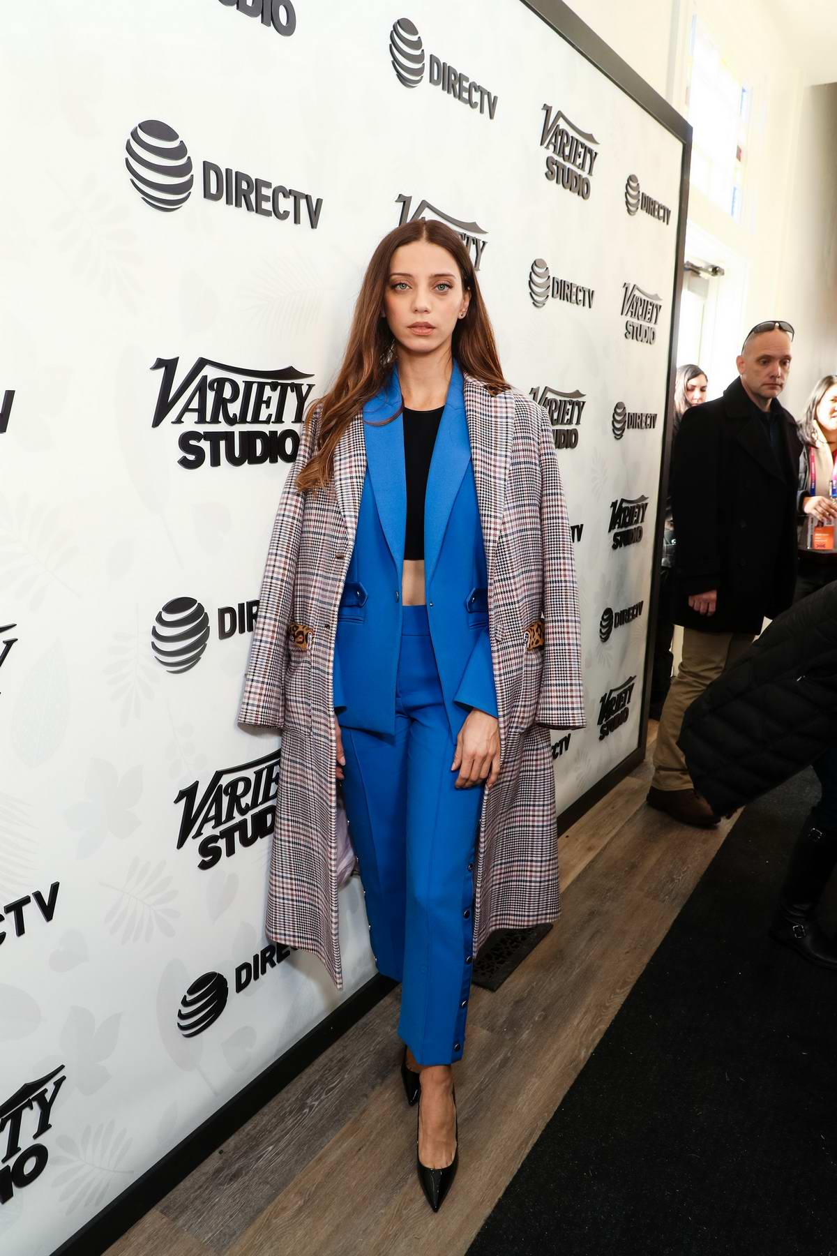 Angela Sarafyan attends Variety Sundance Studio Presented by AT&T during Sundance Film Festival in Park City, Utah
