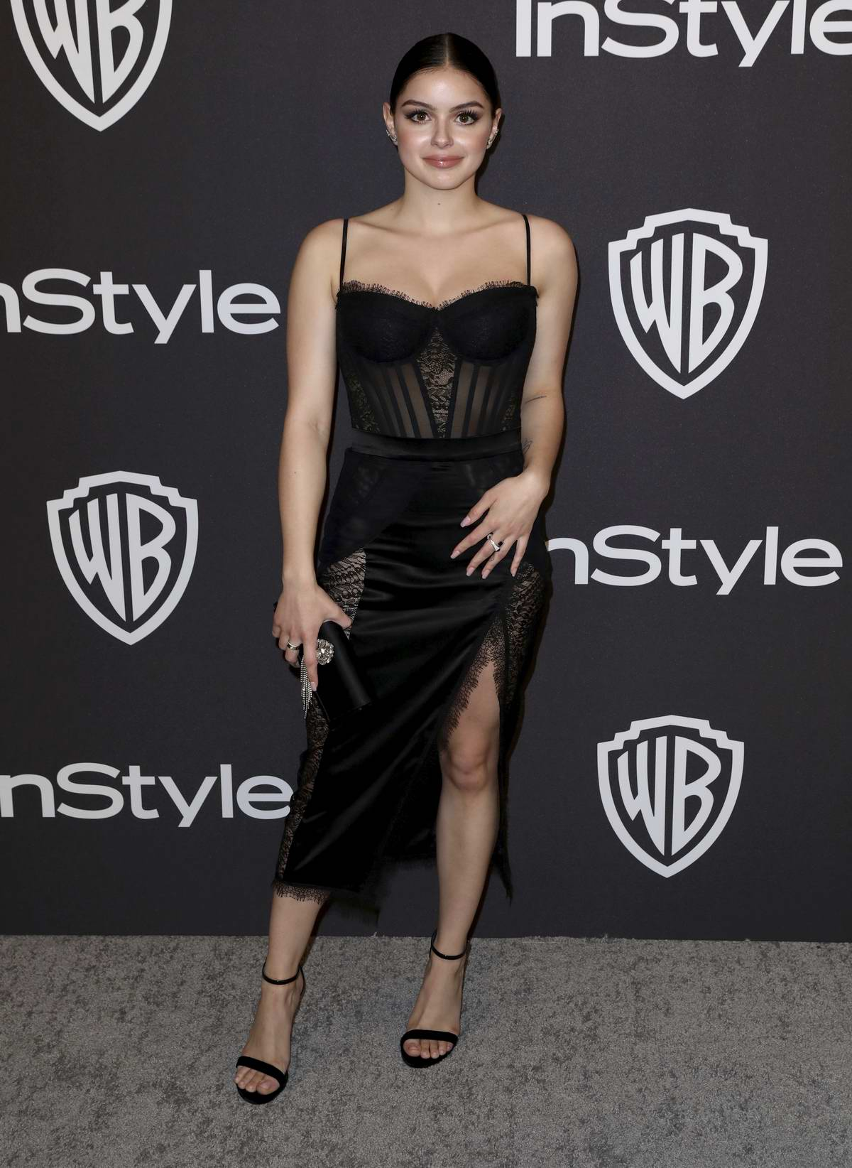Ariel Winter attends InStyle and Warner Bros Golden Globe After Party 2019 at Beverly Hilton Hotel in Beverly Hills, California