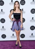 Bailee Madison attends the 24th Annual LA Art Show held at The Convention Center in Los Angeles