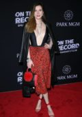 Bella Thorne attends On The Record Grand Opening Red Carpet at Park MGM in Las Vegas, Nevada