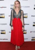 Brie Larson attends 2nd Annual Online Film Critics Society Awards in Los Angeles