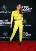 Brittney Palmer attends On The Record Grand Opening Red Carpet at Park MGM in Las Vegas, Nevada