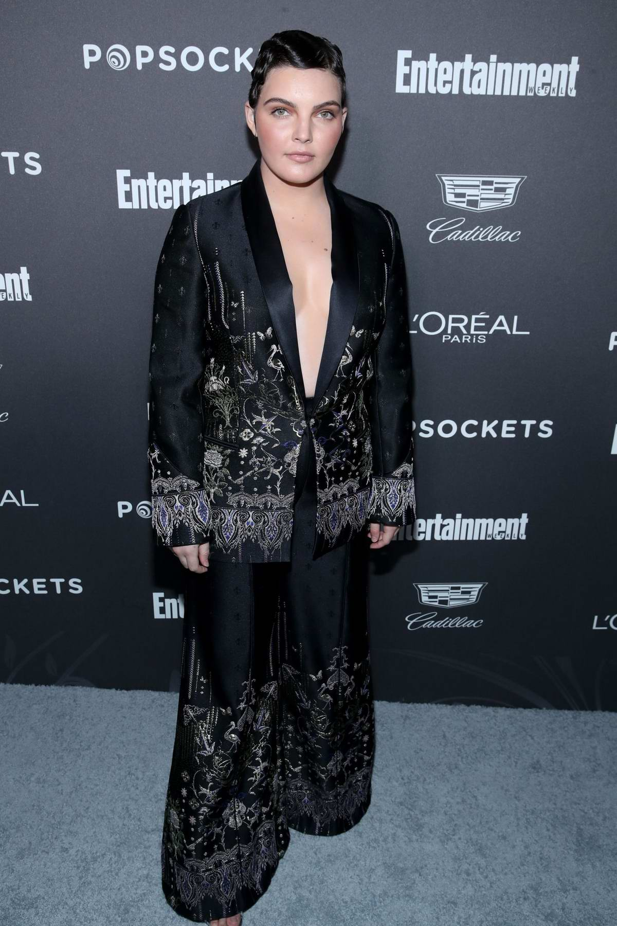 Camren Bicondova attends the 25th Annual Screen Actors Guild Awards (SAG 2019) at the Shrine Auditorium in Los Angeles