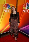 Christina Hendricks attends the NBC's New York Mid Season Press Junket in New York City