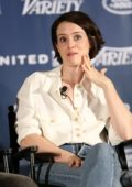 Claire Foy attends the 'First Man' Variety Film Screening Series in Los Angeles