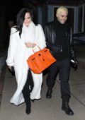 Demi Lovato and Henri Levy steps out for a romantic dinner in Aspen, Colorado