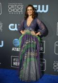Dina Shihabi attends the 24th Annual Critics' Choice Awards at Barker Hangar in Santa Monica, California