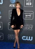 Elizabeth Olsen attends the 24th Annual Critics' Choice Awards at Barker Hangar in Santa Monica, California