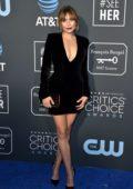 Elizabeth Olsen attends the 24th Annual Critics' Choice Awards at Barker Hangar in Santa Monica, California