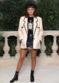 Ella Purnell attends Chanel Fashion Show Haute-Couture Spring/Summer 2019 during Paris Fashion Week in Paris, France