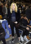 Ellie Bamber attends NBA London Game 2019 at the O2 Arena in London, UK
