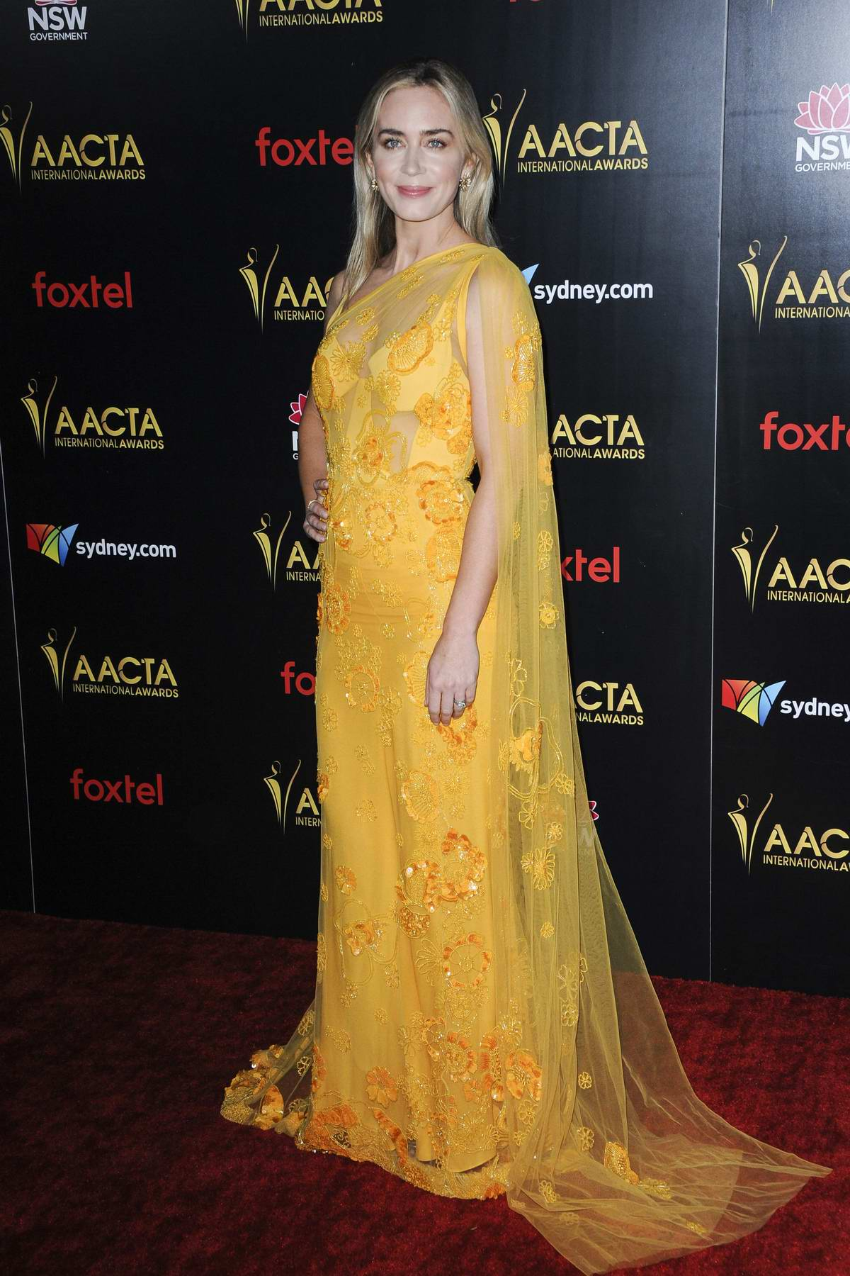 Emily Blunt attends 8th AACTA International Awards in Los Angeles