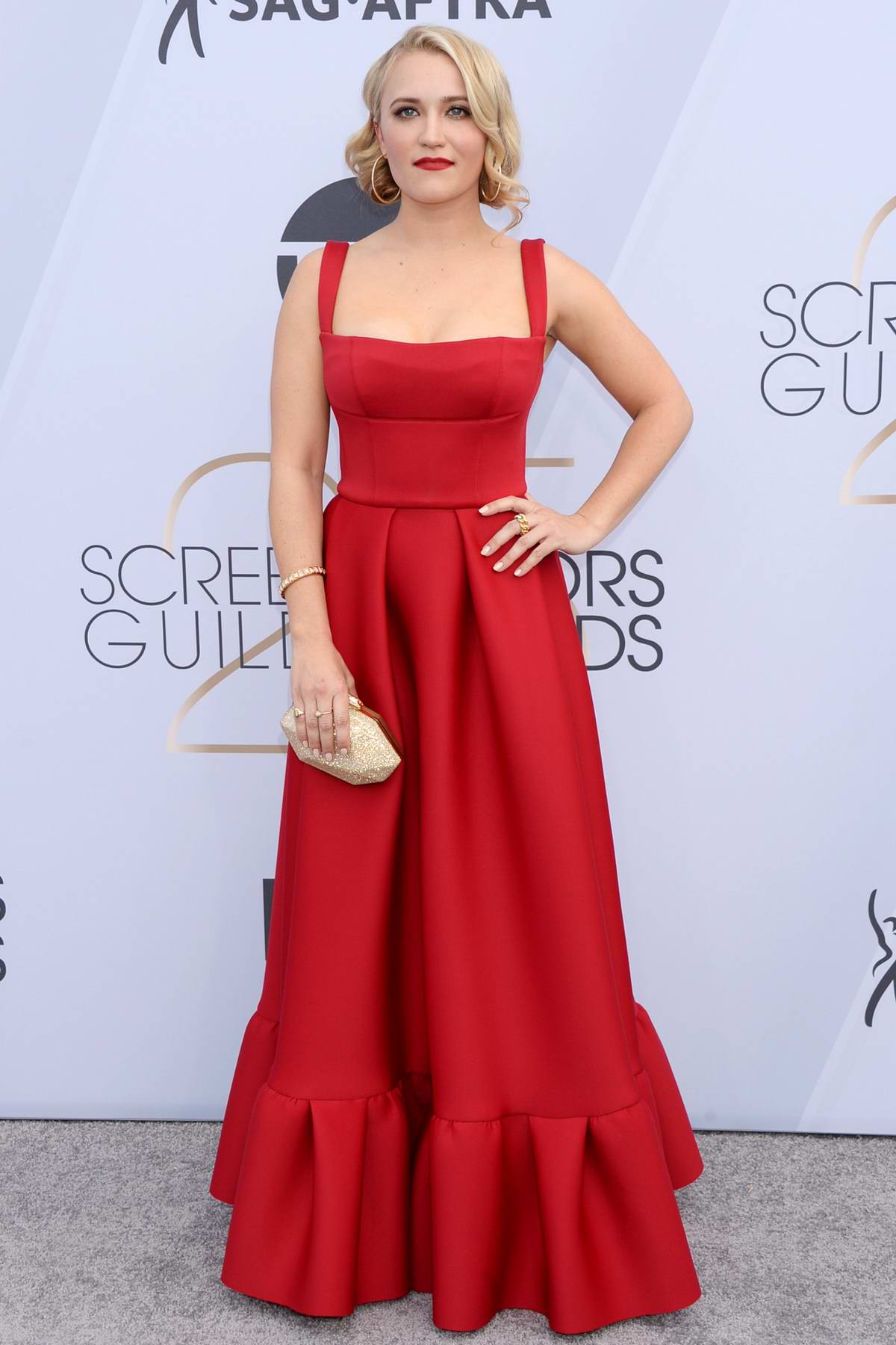 Emily Osment attends the 25th Annual Screen Actors Guild Awards (SAG 2019) at the Shrine Auditorium in Los Angeles