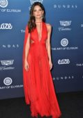Emily Ratajkowski attends The Art of Elysium's 12th Annual Black Tie Event 'Heaven' in Los Angeles