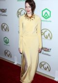Emma Stone attends the 30th Annual Producers Guild Awards at The Beverly Hilton Hotel in Los Angeles