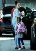 Gal Gadot steps out without makeup to pick up her daughter in Los Angeles