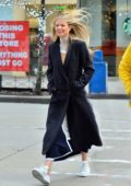 Gwyneth Paltrow is all smiles while out for a stroll in New York City