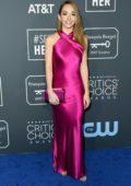 Holly Taylor attends the 24th Annual Critics' Choice Awards at Barker Hangar in Santa Monica, California