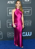 Holly Taylor attends the 24th Annual Critics' Choice Awards at Barker Hangar in Santa Monica, California