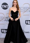Holly Taylor attends the 25th Annual Screen Actors Guild Awards (SAG 2019) at the Shrine Auditorium in Los Angeles