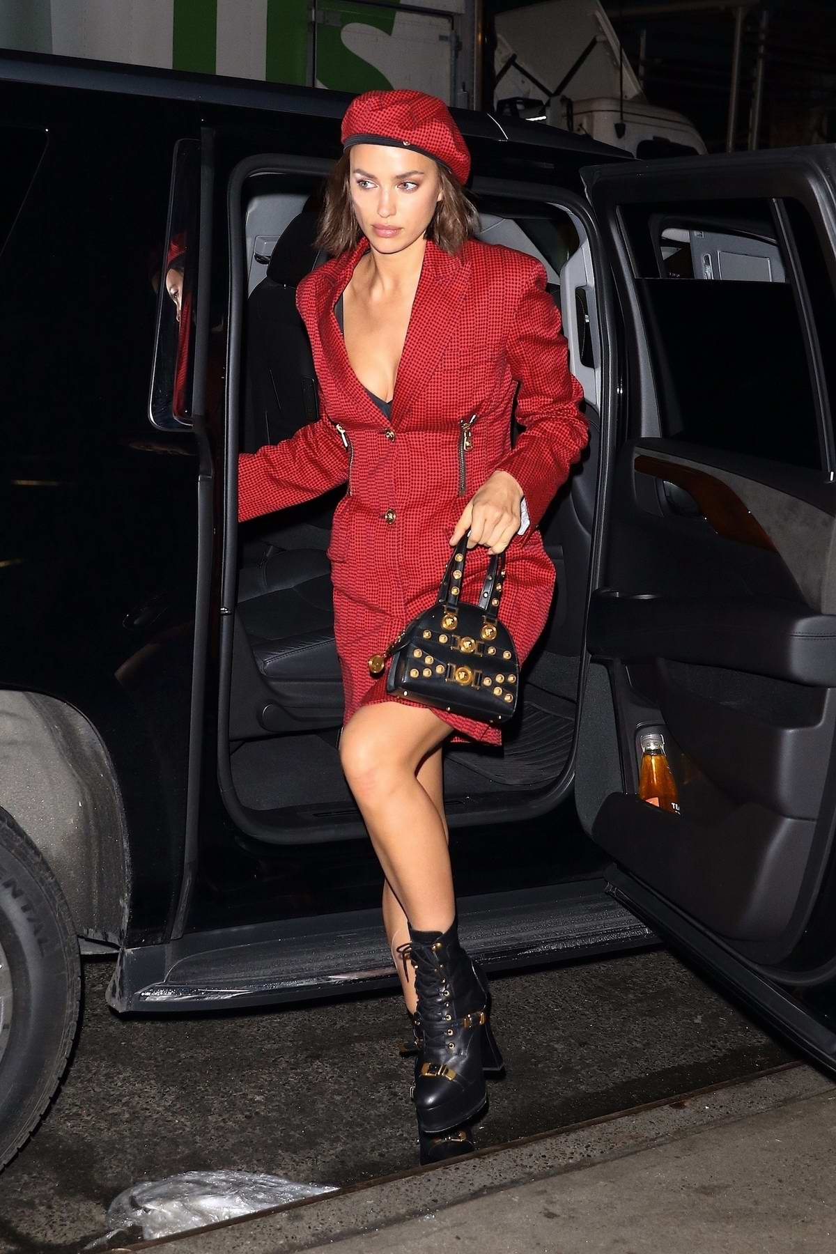 Irina Shayk and Bradley Cooper arrives at 2019 National Board of Review Gala at Cipriani in New York City