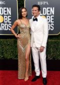 Irina Shayk and Bradley Cooper attends the 76th Annual Golden Globe Awards held at The Beverly Hilton Hotel in Los Angeles, California