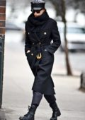 Irina Shayk looks chic in all black as she steps out with New York City