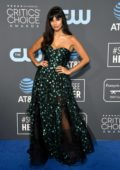 Jameela Jamil attends the 24th Annual Critics' Choice Awards at Barker Hangar in Santa Monica, California