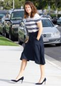 Jennifer Garner and Ben Affleck attend Sunday Church Service together in Los Angeles