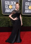 Jessica Chastain attends the 76th Annual Golden Globe Awards held at The Beverly Hilton Hotel in Los Angeles, California
