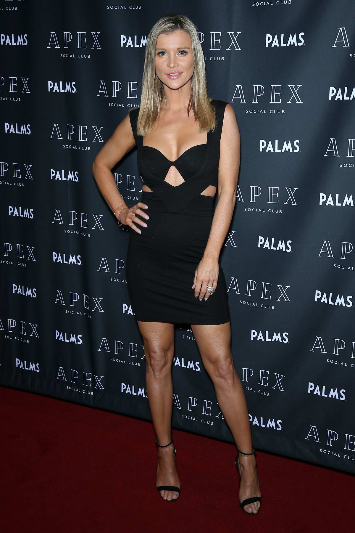 Joanna Krupa launches her skin care line 'Elphia Beauty' at Palm Resort & Casino in Las Vegas, Nevada