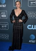 Kaley Cuoco attends the 24th Annual Critics' Choice Awards at Barker Hangar in Santa Monica, California